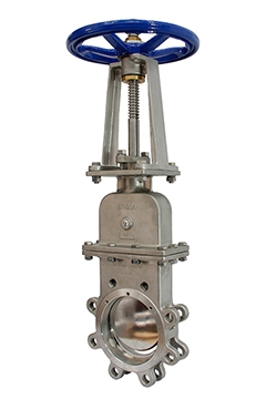 Manualsealed knife gate valves