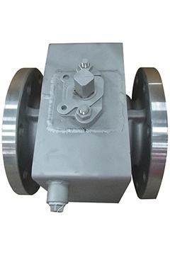 Semi jacket ball valves