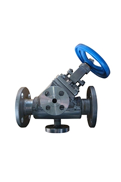 Full jacket Y type globe valves