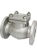 Swing check valves 150#