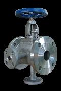 Full jacket globe valves