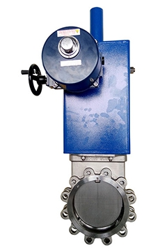 Electric Operated Knife Gate Valves 1 05